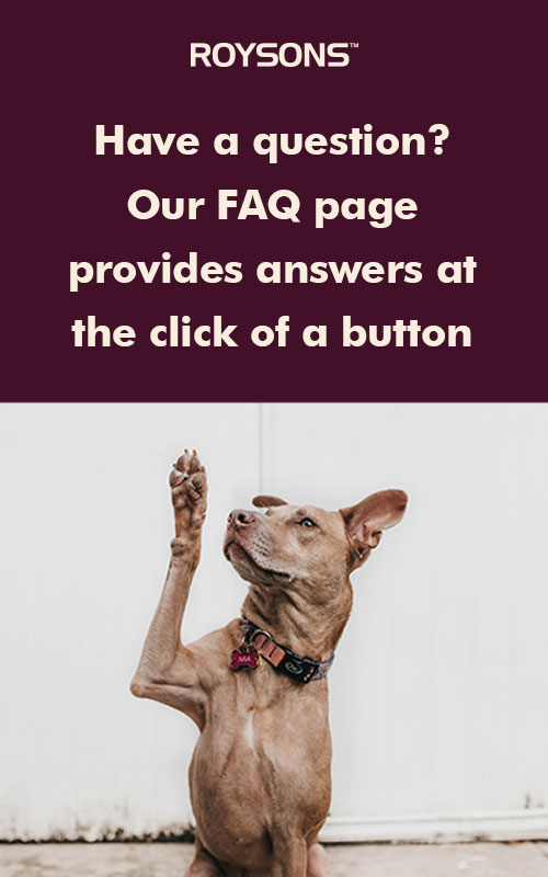 Roysons FAQ Preview
