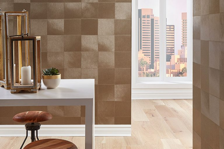 Roysons Wallcovering Square Embossed Pattern