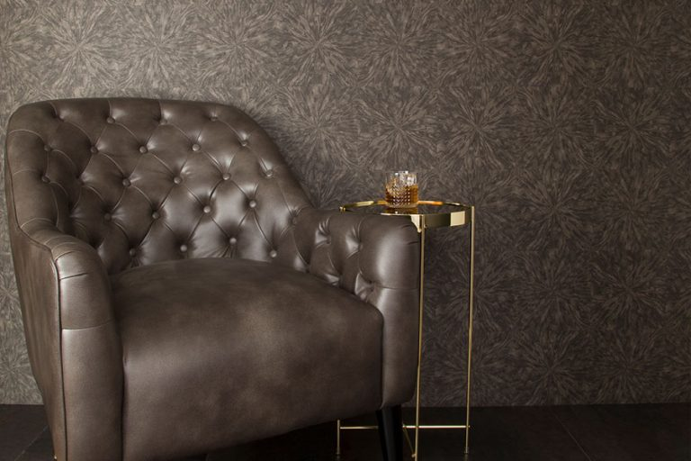 Roysons Chair and Wallcovering Roomshot